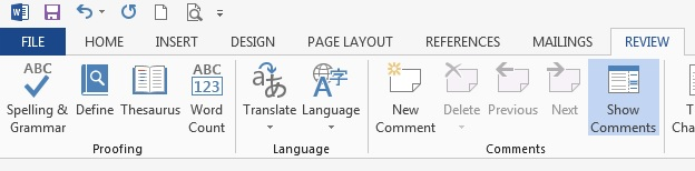 word 2013 review