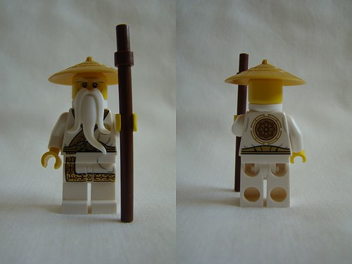LEGO Ninjago The Secret World Sensei Wu