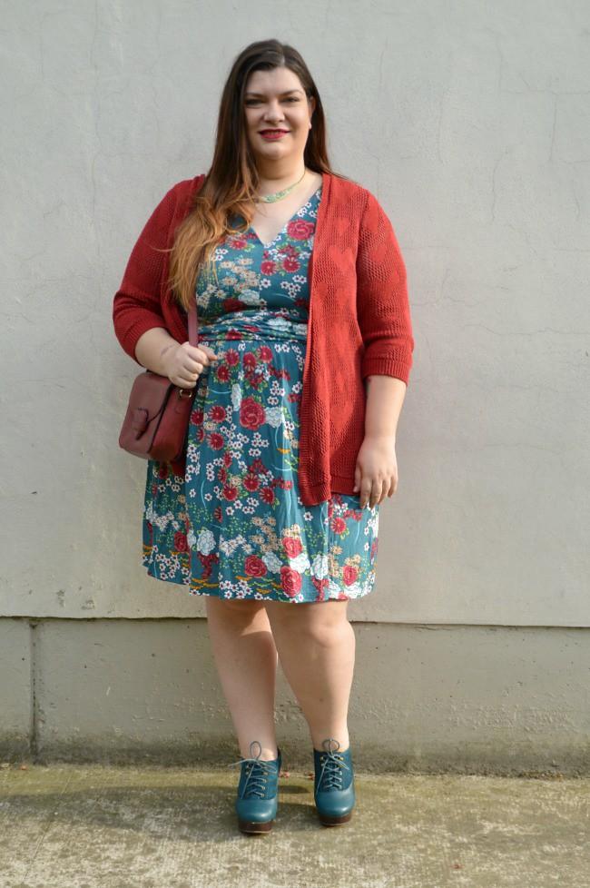 Outfit giorato e rosso (2)