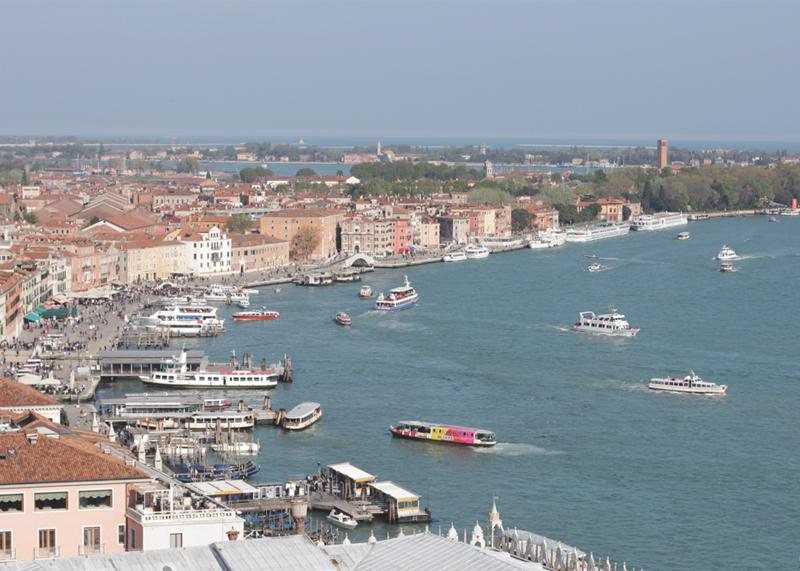 View over Venice, Bumpkin Betty