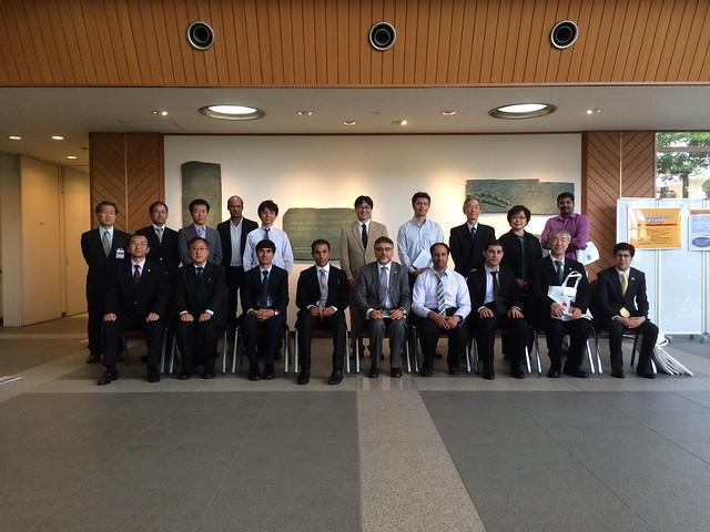 08.05.2015 Yokohama City University Visit 2