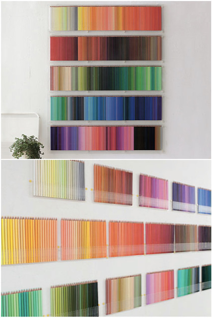 500  japanese coloured pencils