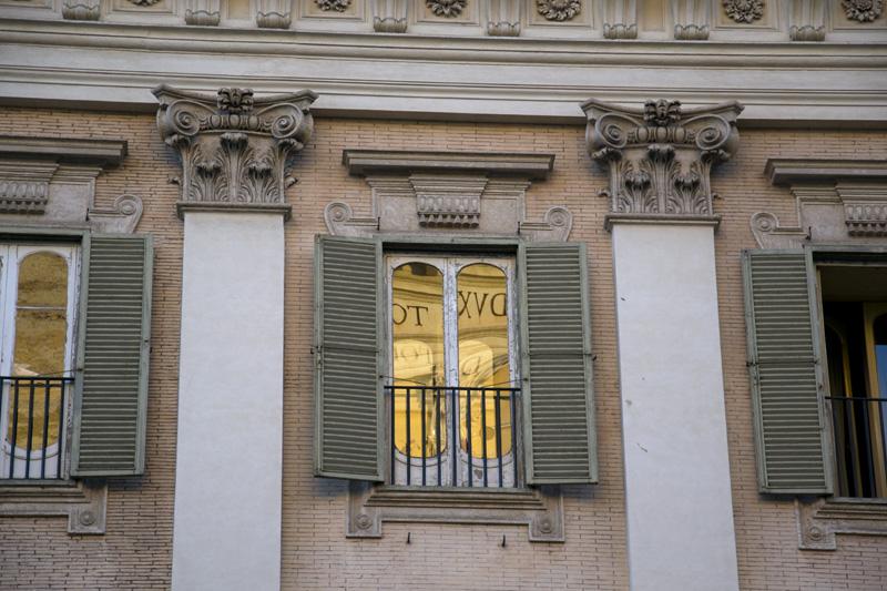 Roman window SS. Apostoli