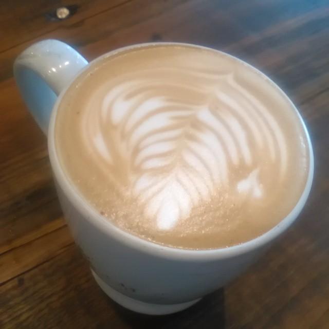A #DarkPhoenix spiced mocha #coffee at the #BlackCanary