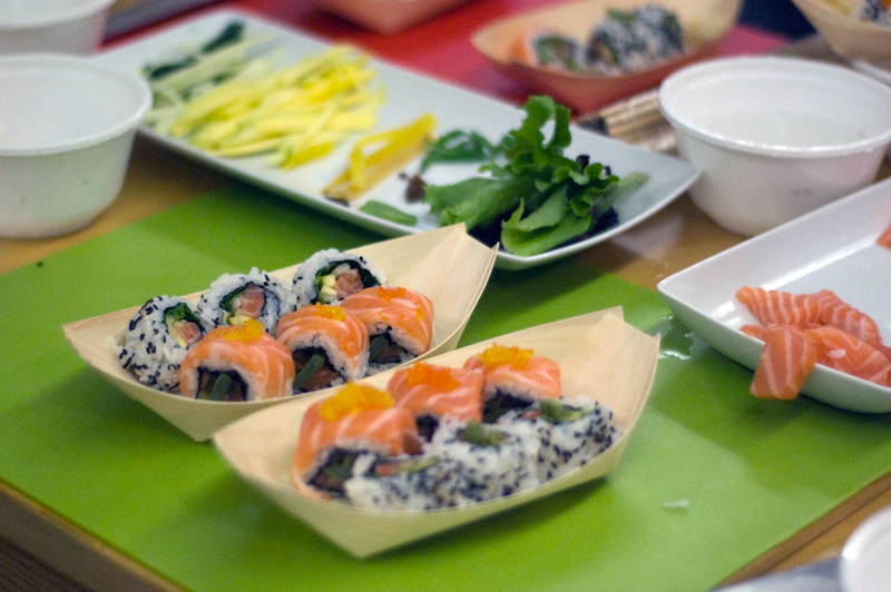 Sushi Fest, Workshop de Sushi, chef Paulo Morais