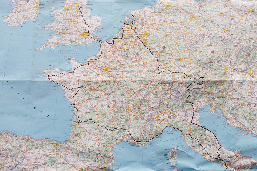 Map: 12 weeks