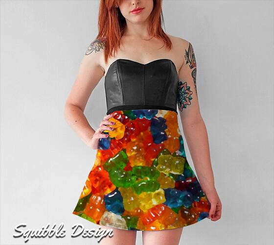 gummy_bear_flare_skirt_squibble_design
