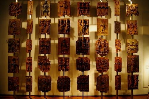 Brass Plaques from Benin City Nigeria