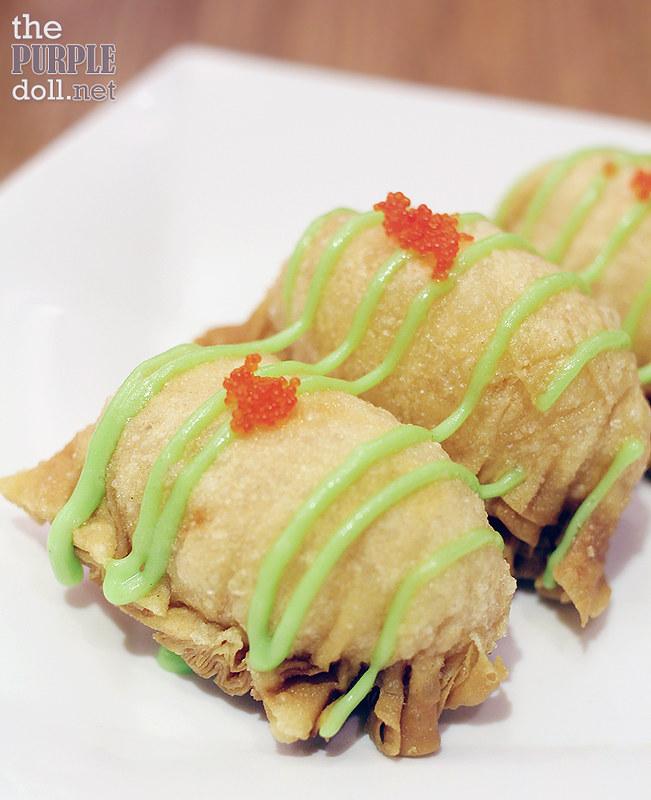 Wasabi Salad Prawn Dumpling (P140)