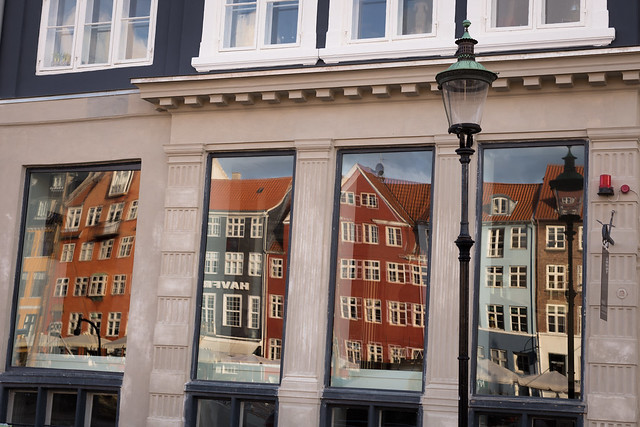 Window Reflections - Nyhavn