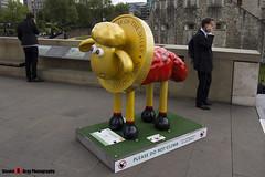 SHAUN-XIAO No.38 - Shaun The Sheep - Shaun in the City - London - 150512 - Steven Gray - IMG_0293
