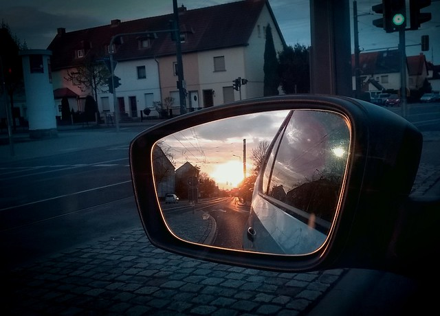 ЯÜCKBL3ИD3 (Rear-view Mirror / Sunrise)