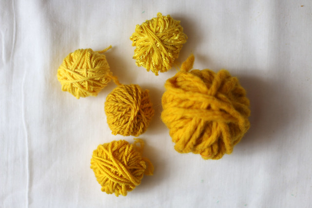 Turmeric Dyed Yarns
