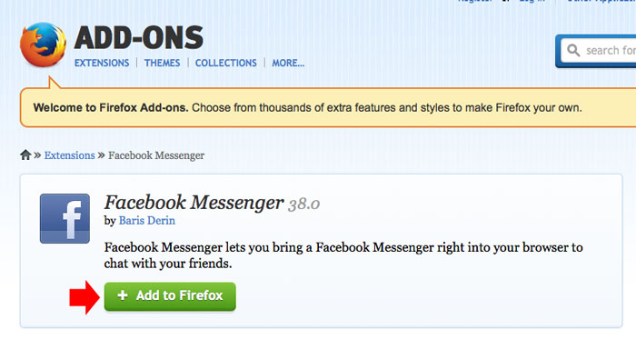 How to Add Facebook Messenger on Your Browser
