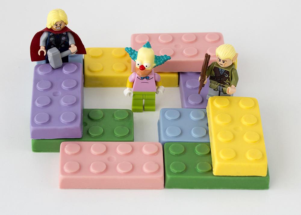 Moldes Lego