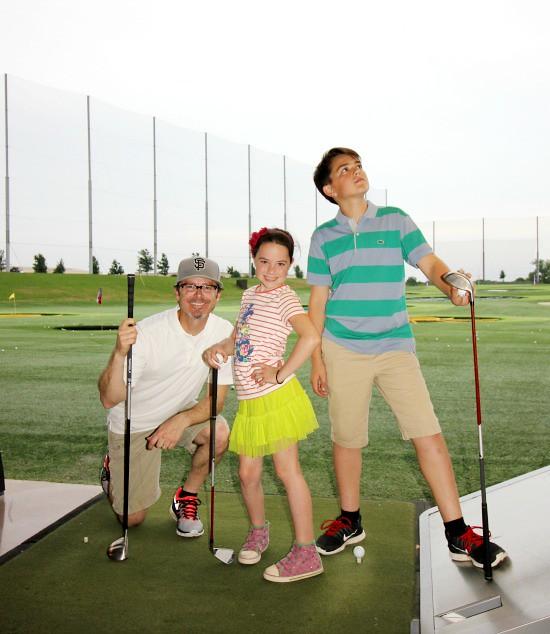 Hi Sugarplum | Family Golf Date