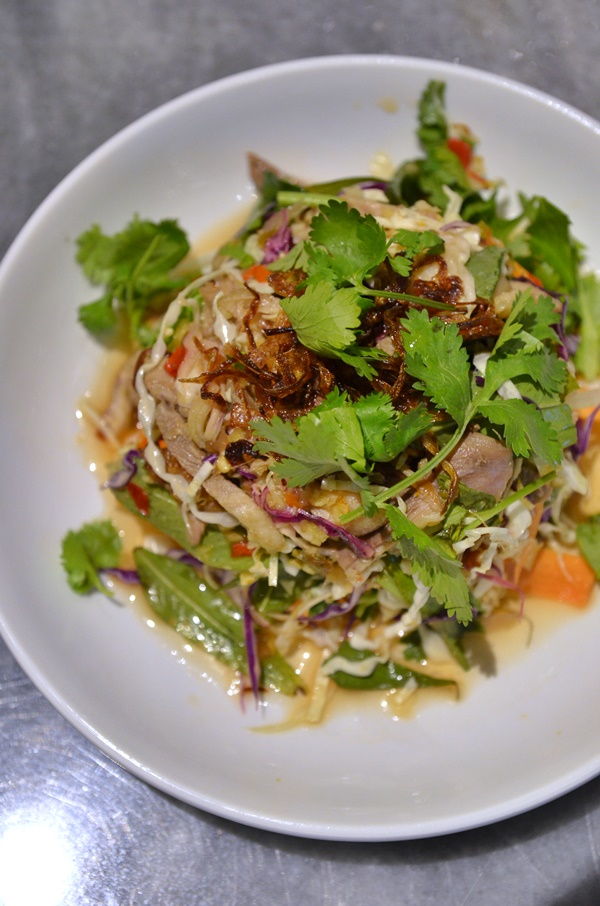 Boiled Duck Salad