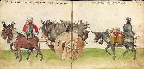 003- Transporte de agua en España-Códice de Trajes-Biblioteca Digital Hispanica