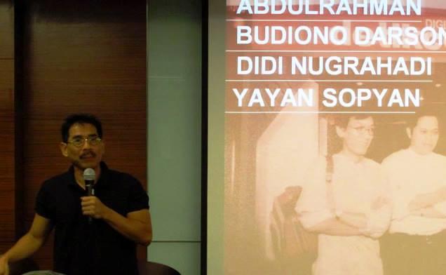Akademi Berbagi Public Lecture 2 - Budiono Darsono
