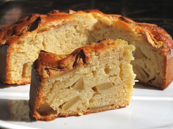 szybkie ciasto z jablkami
