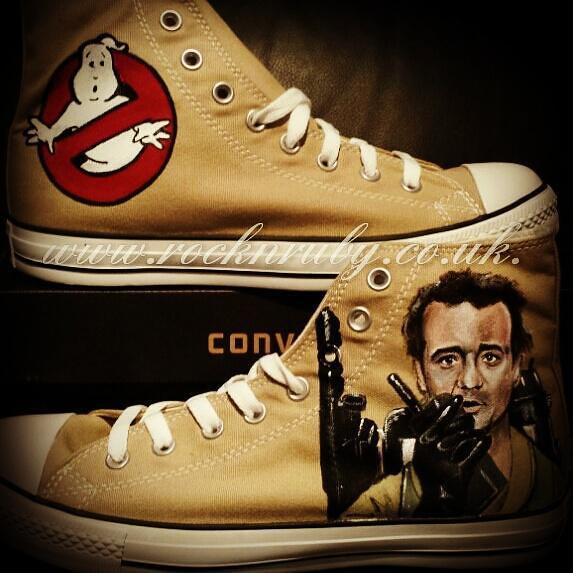 Rock N Ruby Custom Ghostbusters Converse