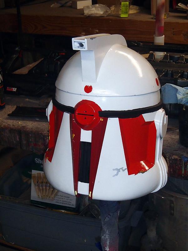 Hammer Helmet Back