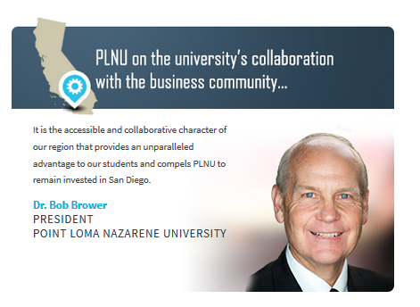 Dr. Brower on why PLNU thrives in SD