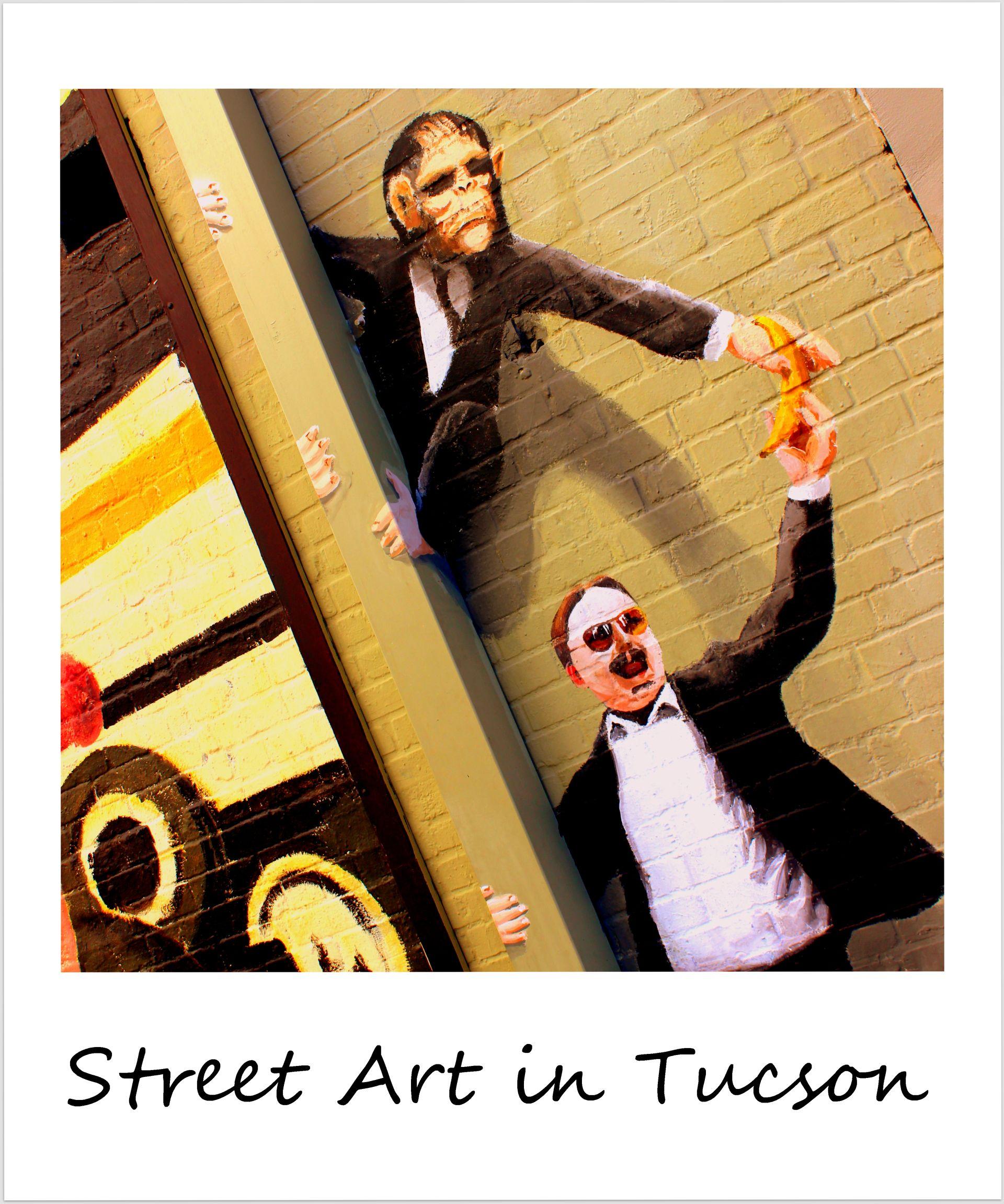 polaroid of the week usa arizona tucson street art