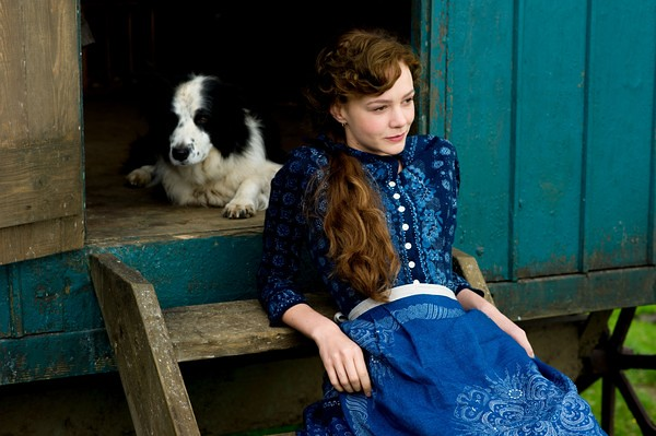 Carey Mulligan enhances the already beautiful scenery in FAR FROM THE MADDING CROWD.