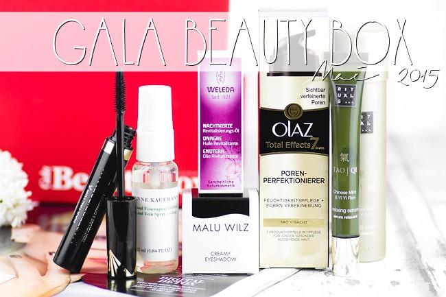 Gala Beauty Box Mai 2015, Überraschungsbox, Beautybox, Kosmetikbox
