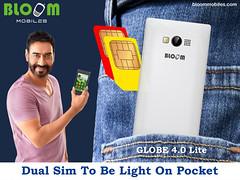 Bloom GLOBE 4.0 Lite Dual Sim To be Light On Pocket