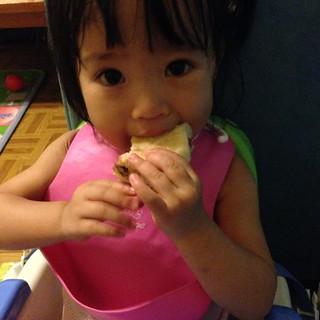 鹿姐很愛紅豆麵包~