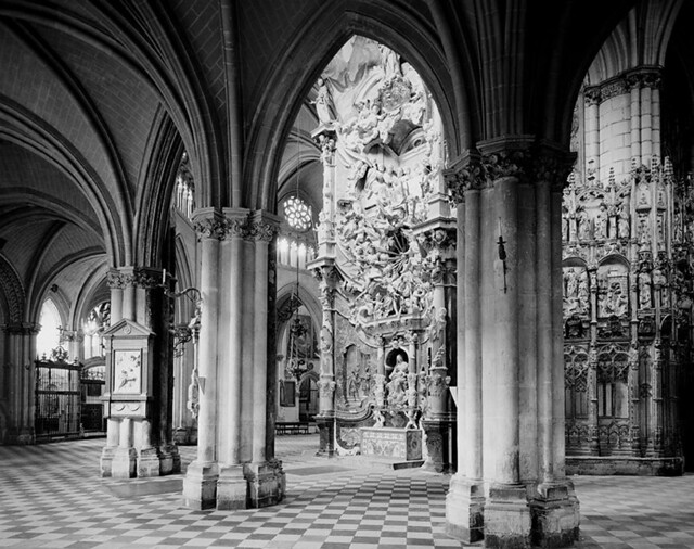 Transparente de la Catedral de Toledo fotografiado por Evelyn Hofer en los años 50 © Evelyn Hofer