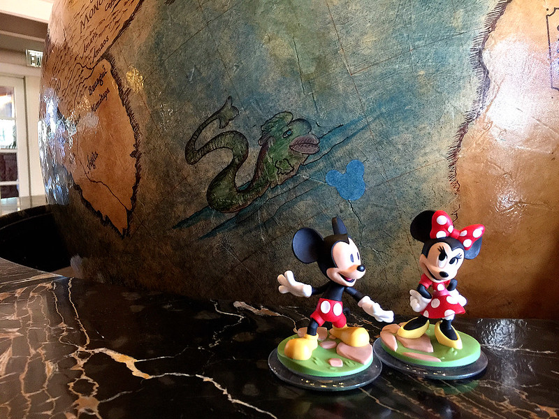 Hidden Mickey at Disney's Yacht Club Resort