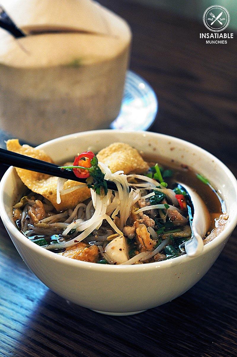 Restaurant Review of Assamm, Sydney CBD. Sukhothai Noodle Soup