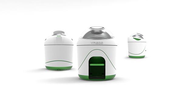 Yirego Drumi: mini lavadora ecológica a base de pedal