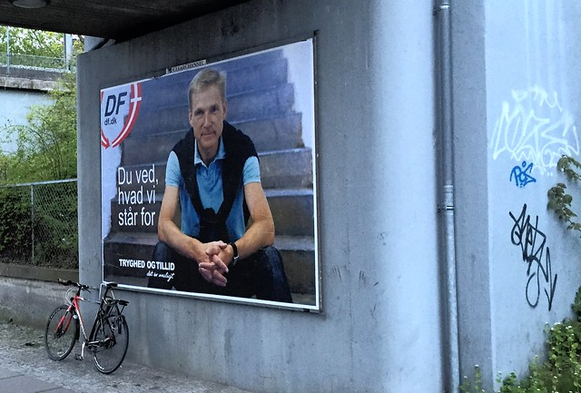 Danish People's Party campaign poster