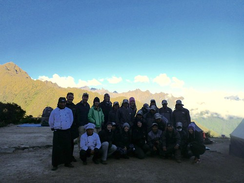 Our group with the porters