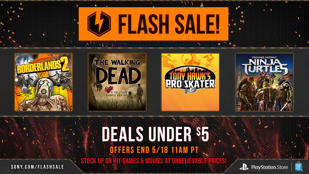 May Flash Sale