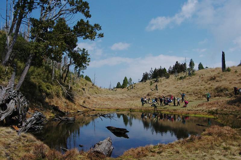 加羅湖登山