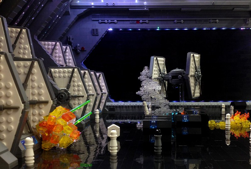 First Order TIE hangar, by markus1984, on Eurobricks