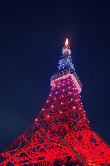 Tokyo Tower Rainbow Diamond Veil 12
