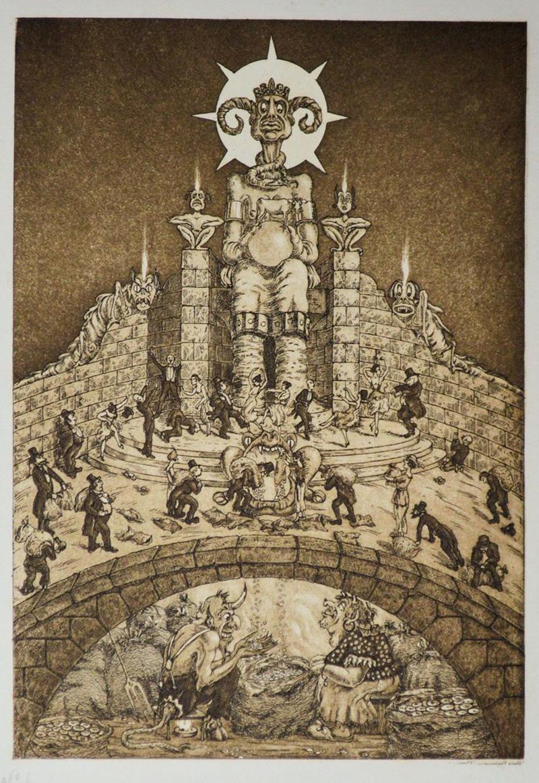Hans Eggimann - King Mammon, 1923