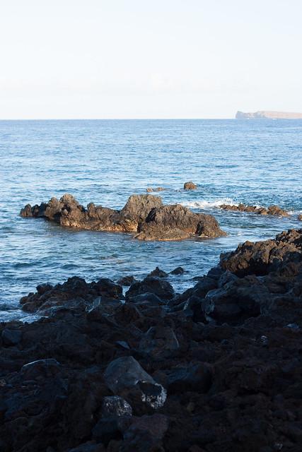 Ahihi Kinau's Rocky Coast
