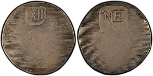 New England Shilling. Wyatt Copy