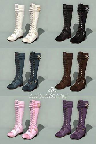 lassitude & ennui Hellebore boots