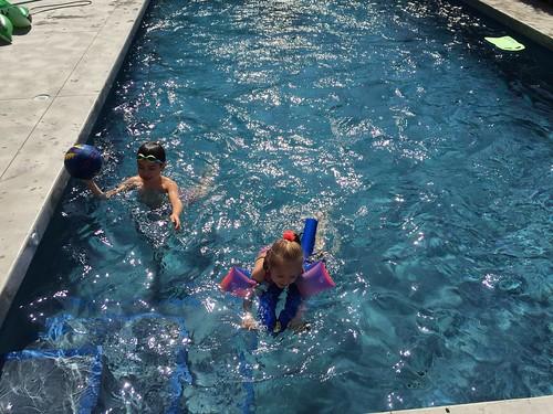 Swimming with Scott & Elaine