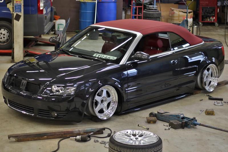 jusni: Audi A4 Bagged Bathtub - Sivu 4 17825104991_6152642abd_c