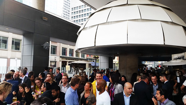 BBQ Patio Party at O&B Yonge and Front