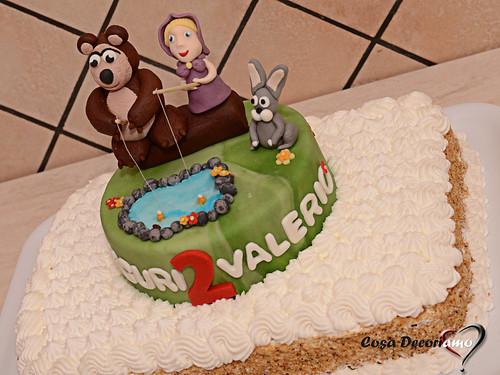 Torte - 97 - Torta Masha e Orso 2